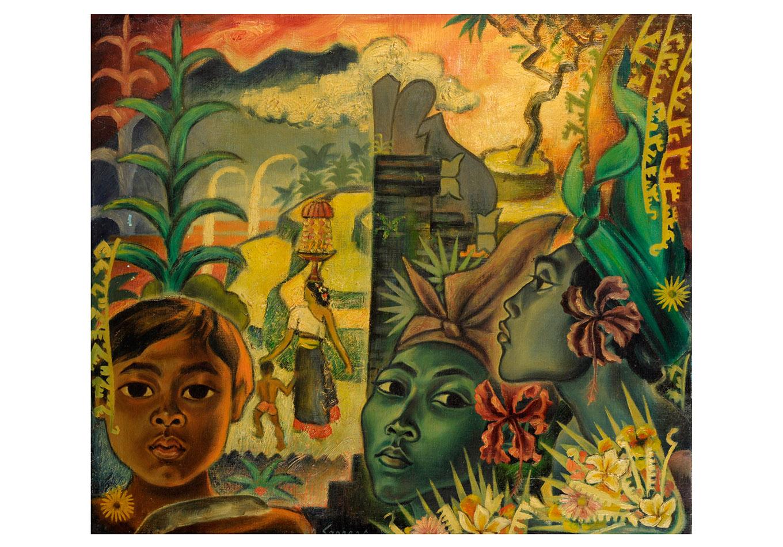 Auke Sonnega - Zeeuws Veilinghuis - Indonesian Art