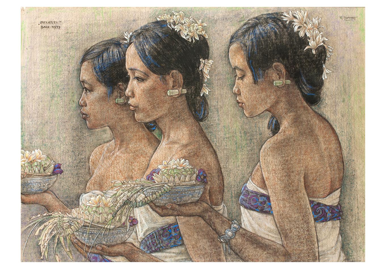 Rudolf Bonnet - Zeeuws Veilinghuis - Indonesian Art