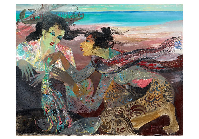 Hendra Gunawan - Zeeuws Veilinghuis - Indonesian Art