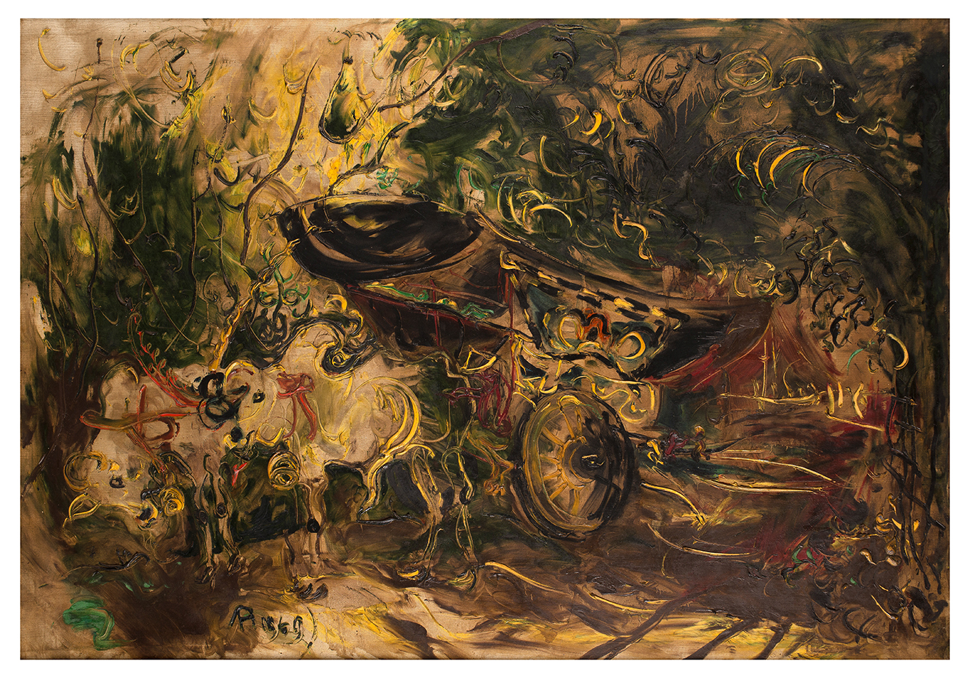 Affandi - Zeeuws Veilinghuis - Indonesian Art