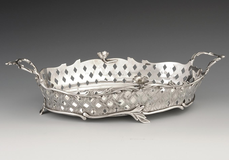 Zilveren broodmand - Zeeuws Veilinghuis